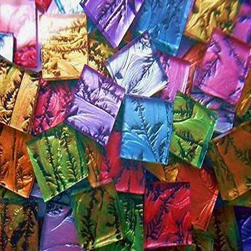 Van Gogh Glass Mosaic Tile - 500 Pieces VAN GOGH MIX Mosaic Glass Tiles HEAVENKISS