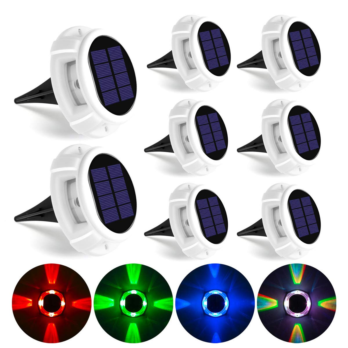 GIGALUMI Solar Ground Lights