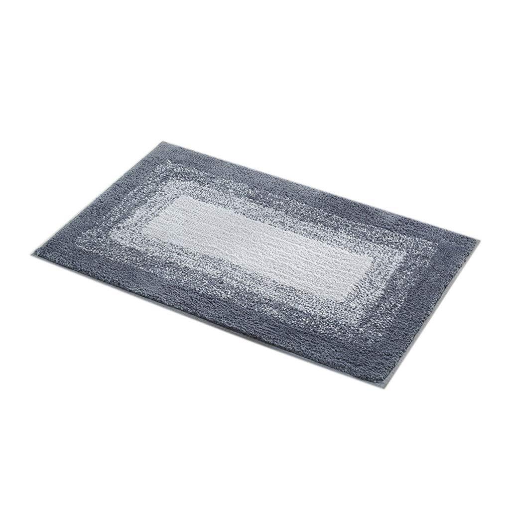 TLTLFHD Anti-Rutsch-Badematte, Bad Wasserdicht Anti-Rutsch-Dusche Matte Zu Hause Umweltschutz Absorbierende Badematte 50 × 80cm (Farbe   Blau) B07H33G925 Duschmatten