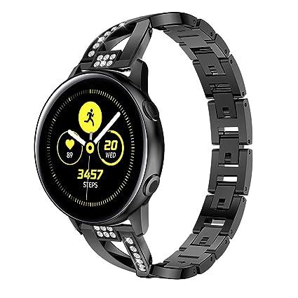 Amazon.com: SOCEN Pulsera compatible con Galaxy Watch Active ...