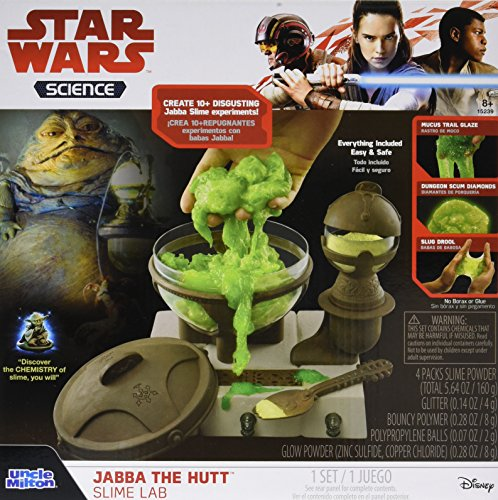 Basic Fun Inc Star Wars Jabba The Hutt Slime Lab Kit ()