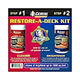 Gemini 895 Restore-a-deck Cleaner & Brightener Kit