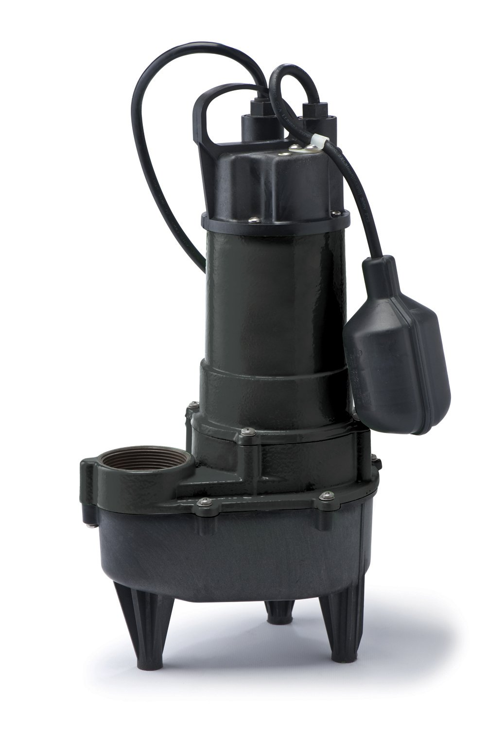 ECO-FLO Products RSE50W Cast Iron Sewage Pump with Wide Angle Switch, 1/2 HP, 5,700 GPH by ECO-FLO PRODUCTS INCORPORATED