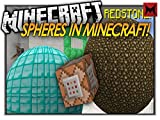 Clip: How To Make Spheres In Vanilla Minecraft