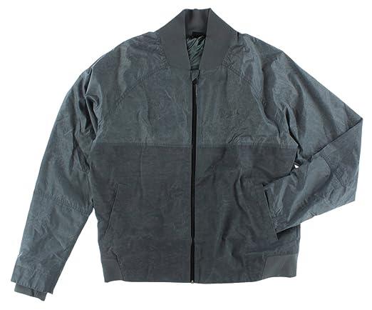 Nike hombre Jordan Bomber chaqueta Gris gris oscuro: Amazon.es: Ropa y accesorios