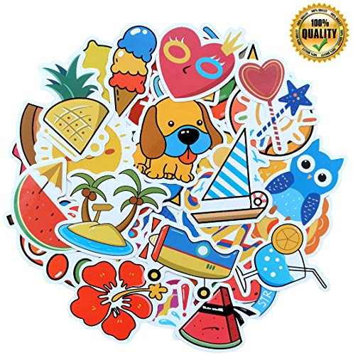 Stickers for Water Bottles,Aesthetic Laptop Stickers (50PCS) 100% Vinyl, Stylish and Beautiful, Cute Water Bottle Sticker, is The Best Gift for Children Or Friends.
