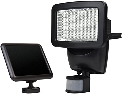 Sunforce 82126 120-LED Solar Motion Light, 1100 Lumen Output, 30ft. 9.1m Detection Distance, 180 degrees Detection Range, Fully weather resistant and can be mounted almost anywhere
