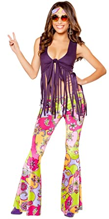 Amazon Com Musotica Yellow Submarine Girl S Hippie Halloween
