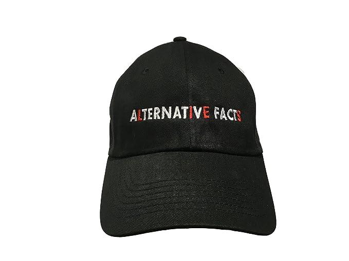 Amazon.com  Alternative Facts (Lies) - Black Embroidered Ball Cap ... ba6dc7c4c0b