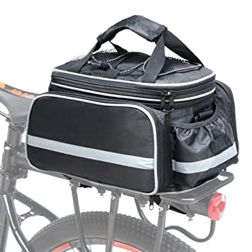 01e2870f98b COFIT Bolsa para Maletero de Bicicleta, Bolso de Viaje Portátil Extensible  para el Asiento Trasero de la Bicicleta Pannier de 25L: Amazon.es: Deportes  y ...