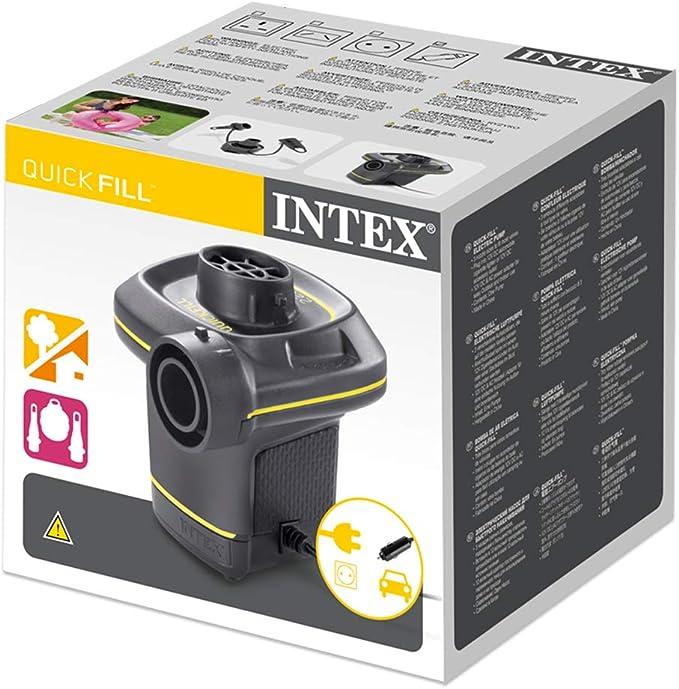 Intex 230 Volt Quick Fill Ac Dc Electric Pump Garten