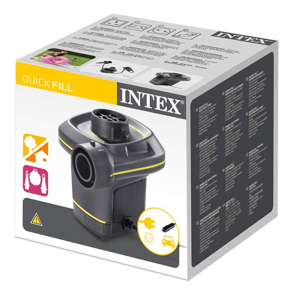 Intex 230 Volt Quick-Fill Ac//Dc Electric Pump