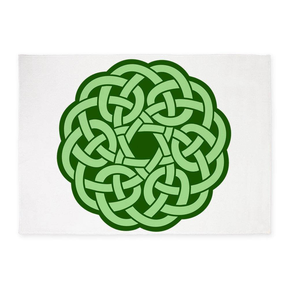 5' x 7' Area Rug Celtic Knot Wreath by Royal Lion