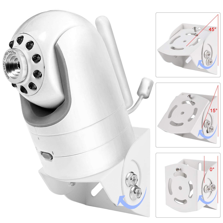 Adjustable Angle Mount for Infant Optics DXR-8, Motorola, Samsung, Babysense, HelloBaby and Most Universal Monitors Camera,Aluminum Alloy Material by Alertcam (Image #3)
