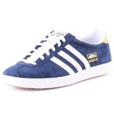 adidas Originals Gazelle OG, Sneakers Basses femme Bleu Blau (Night Indigo