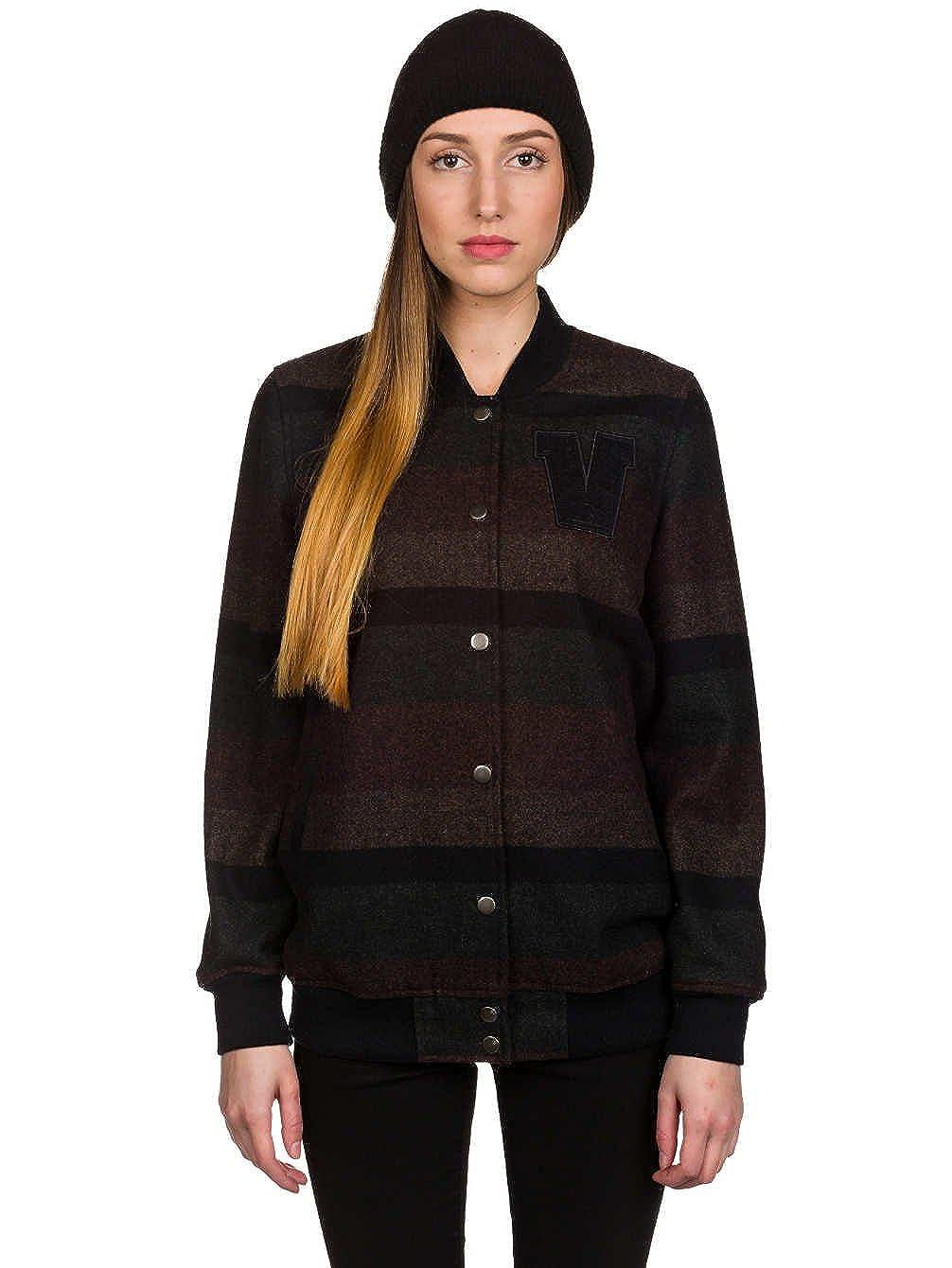 Vans - Chaqueta - para mujer marrón Stripe XL: Amazon.es ...