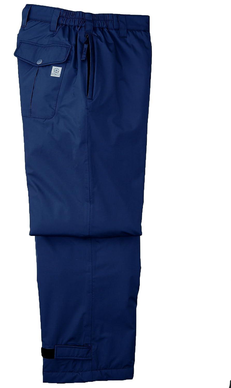 [サンエス]SUN-S【エコ防水防寒パンツ】柔らかな風合いの完全防水防寒《099-AD30255》 B00O4B59NY XL|3 ネイビー 3 ネイビー XL