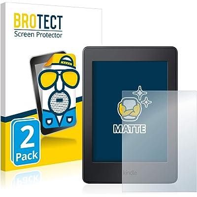 BROTECT Protector Pantalla Anti-Reflejos Compatible con Amazon Kindle Paperwhite 2015 (7a generación) (2 Unidades) Pelicula Mate Anti-Huellas