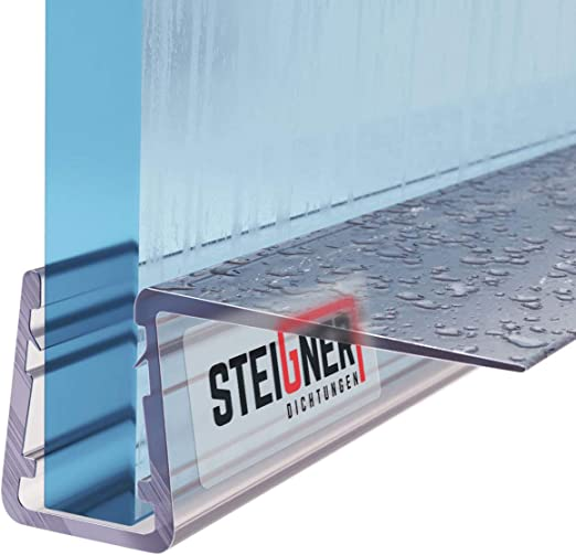 STEIGNER 30cm Joint d/étanch/éit/é de remplacement pour les vitres d/'une /épaisseur 5mm// 6mm// 7mm// 8mm UK14