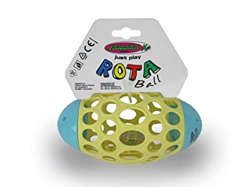 Jamara 460469 Rota Ball - Pelota Blanda con Agujeros geométricos ...