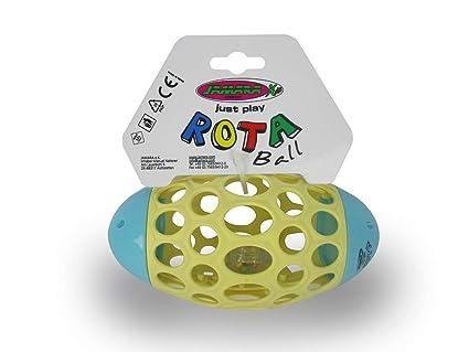 Jamara 460469 Rota Ball - Pelota Blanda con Agujeros ...