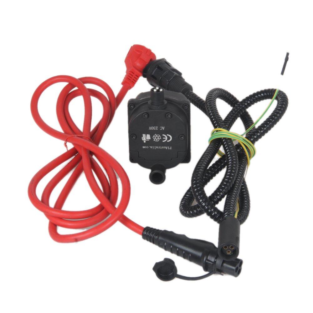 Vvkb 230/V motore riscaldatore 1500/W T/ÜV CE RoHS FCC con due cavi di collegamento