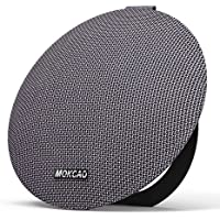 Bluetooth Speakers 4.2,Portable Wireless Speaker with 15W Super Stereo Sound,Strong Bass,Waterproof IPX7, 2500mAh Battery,MOKCAO STYLE Perfect for iPhone/Android devices,Colorful Good Gift-Grey