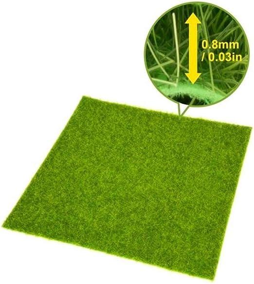 heDIANz Césped Artificial sintético jardín Paisaje Ornamento decoración para el hogar 30 * 30cm: Amazon.es: Jardín