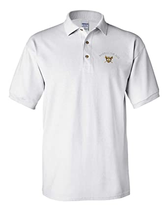 0cd8f00b Image Unavailable. Image not available for. Color: Custom Polo Shirt Sport Golf  Crest Logo Embroidery ...