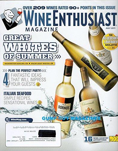 Wine Enthusiast Magazine July 2011 - Great Whites of Summer