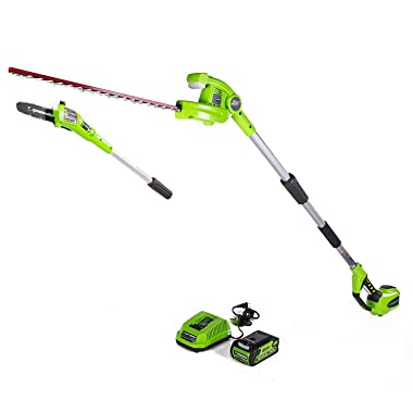Greenworks PSPH40B210 8-Inch 40V Cordless Pole Saw