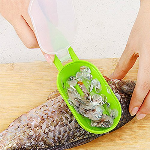 Fish Cleaning Tool Machine Knife Peeler Scraping Fish Scales Kill Creative Home Supply Kitchen Cooking Tool Clean Convenient