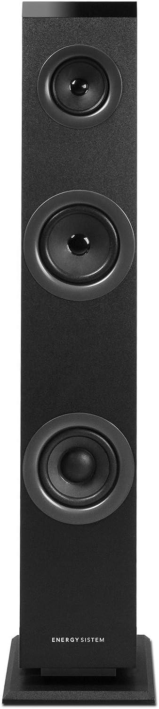 Energy Sistem Tower 1 - Sistema de altavoces en torre con Bluetooth 4.1, 30 W Potencia, RCA, 3.5 mm Audio-in, negro