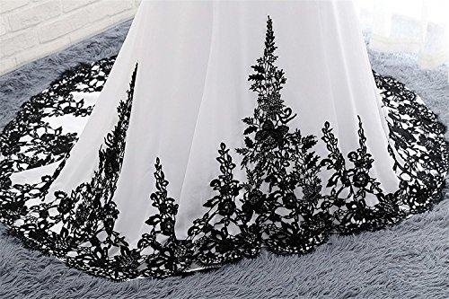 Fuchsia Ärmeln HochzeitsKleid Elegant Carnivalprom Damen Lange Mit Appliques Abendkleider AbschlussballKleid Ballkleider qxPw6