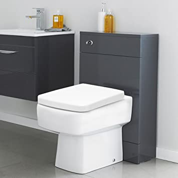 Toilette WC Complet Design Moderne avec Coffrage Meuble Réservoir ...