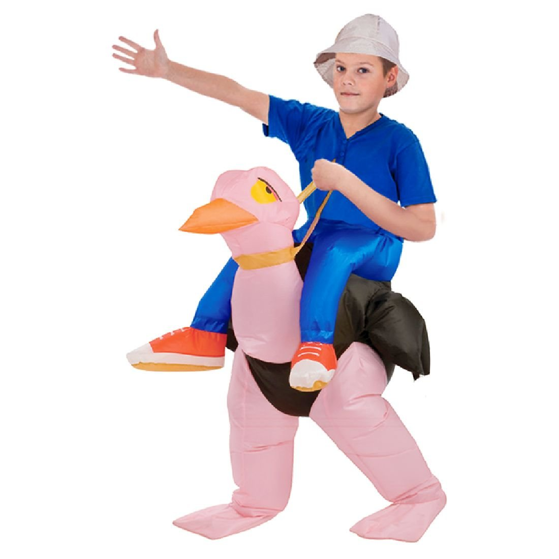 Inflatable Ostrich Fancy Dress Costume Hen Stag Halloween Cosplay 40 To 50 Inch by Crystalbella Inflatable Cos