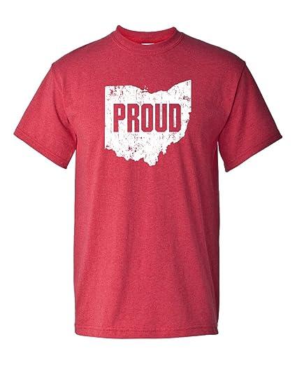 Ohio State Pride Proud American Buckeye Bucks Columbus Adult Men s T-Shirt 5631c4dde