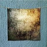 AuraiseHome Soft Luxury Towel grunge wallpaper Easy care machine wash W13.8 x W13.8