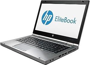 HP EliteBook 8470p Notebook Intel Core i5-3340M 2.7GHz 8GB DDR3 500GB HDD DVD-Writer AMD Radeon HD 7570M Windows 10 Professional (Renewed)