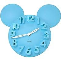 Meidi Clock Modern Design Mickey Mouse Big Digit 3D Wall Clock Home Decor Decoration