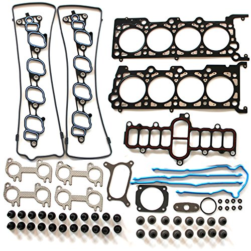 Kit Gasket Sohc Full (ECCPP Compatible fit for Head Gasket Set 2001 Ford Expedition Crown Victoria E-150 F-150 Mustang 4.6L Engine Head Gaskets Kit)