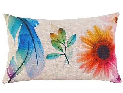 Especial Café Casa decorar moda largo funda de almohada ...