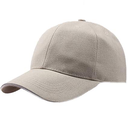 Gorra de béisbol de color sólido,transpirable,Baseball Hat,Tela de ...