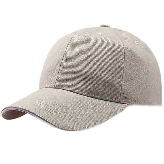 Darringls_gorras,Gorra de béisbol Ajustable al Aire Libre del Snapback del Sombrero del Camionero de la Malla de los Hombres Sombra de Sol para Hombre y ...