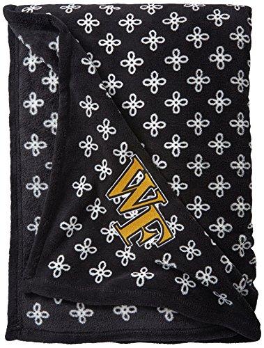(Vera Bradley NCAA Oregon Ducks Women's Throw Blanket, Dark Green/White, X-Large)