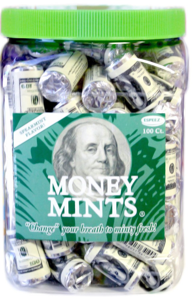 Money Mints 100ct by JollyCandy