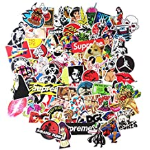 DreamerGO Cool Graffiti Stickers 200 Pieces Various Car Motorcycle Bicycle Skateboard Laptop Luggage Vinyl Sticker Graffiti Laptop Luggage Decals Bumper Stickers (Style-F)