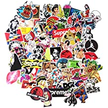 DreamerGO Cool Graffiti Stickers 200 Pieces Transparent Various Car Motorcycle Bicycle Skateboard Laptop Luggage Vinyl Sticker Graffiti Decals Bumper Stickers (200 Pieces)