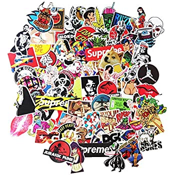 Amazoncom DreamerGO Cool Graffiti Stickers Pieces - Vinyl stickers for bikes