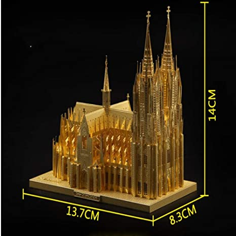 MQKZ DE Colonia Catedral 3D Tridimensional Modelo de Rompecabezas ...